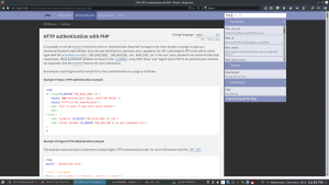 Working PHP unofficial mirror